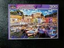 CRA Z ART Puzzlebug FISHING BOATS ITALY Jigsaw Puzzle 300 piece SEALED 18.25x11