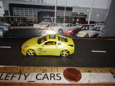 MALIBU INTERNATIONAL NISSAN 350Z SCALE 1/64 (MISSING REAR WING!) Loose!