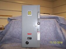 Square D 8538 SBG12V84 Size 0 Combination Starter w/extras