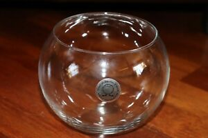 Clear Glass Decorative Flower Planter Terrarium Container Mini Fish Tank Bowl