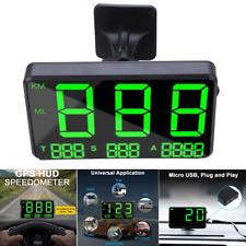 Digital Car Truck GPS HUD Speedometer Motorcycle Bike MPH KM/H Head-up Display