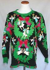 Jack B Quick Christmas Sweater Medium Pullover Ugly Tacky Gaudy