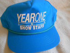 VINTAGE 1990's SNAPBACK HAT MINT  YEAR ONE CAR SHOW STAFF
