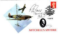 60th Anniv Battle of Britain Signed R.L.Jones 64 & 19 Sqns Battle of Britain