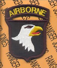 101st Airborne Division COMBAT side AALST patch