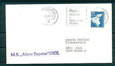 Allemagne - Germany - Enveloppe 1976 - Porte-conteneurs Alster Express / DIDL