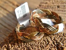 Woven Copper nickle brass,unisex ring arthritis relief, sz 6,7 8,9,10, 12,or 13