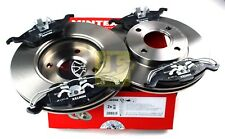 MINTEX FRONT BRAKE SET DISCS, PADS FOR FORD RENAULT MDK0085 (REAL IMAGE OF PART)
