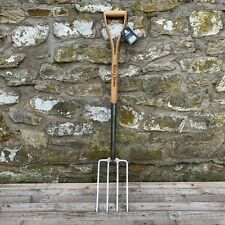 Kent & Stowe Stainless Steel Garden Digging Fork - Wood YD Handle