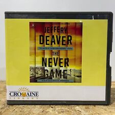 The Never Game by Jeffery Deaver Ex Library 9 CD Unabridged Audiobook Free Ship