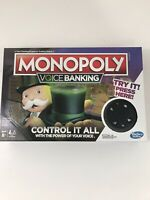 Monopoly Voice Banking Electronic Family Board Game Kid Toy Gift NIB