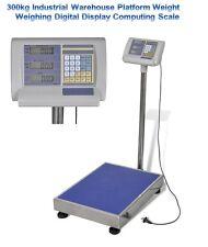 300kg Industrial Warehouse Platform Weight Weighing Digital Display Scale