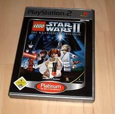 Playstation 2 Spiel - Star Wars II 2 - Die Klassische Tril.. Platinum - PS2 Game