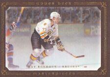 2008-09 UD Masterpieces Hockey Brown #48 Ray Bourque Boston Bruins