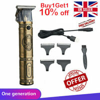 Electric Hair Clipper Pro Li Liner Grooming Cordless Cutting T-Blade Trimmer REC