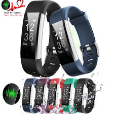 Fitness Activity Tracker Health Heart Rate Monitor Smart Watch Band Fitbit Style