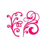 Stanzschablone Blume Liane Oster Hochzeit Weihnachts Geburtstag Karte Album YB