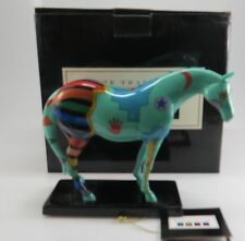 Trail of Painted Ponies Spirit War Pony # 1462 Ceramic 2nd Edition