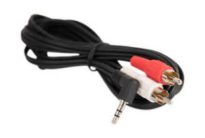 6' MP3/PC/iPHONE/iPOD STEREO Y ADAPTER 3.5mm RCA AUDIO CABLE USA SELLER WARRANTY
