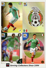 2010 Panini South Africa World Cup Soccer Cards Team Set Mexico (4)