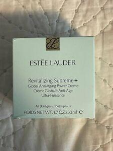 Estée Lauder Revitalizing SUPREME+ Global Anti-Aging Cell Power Cream 1.7oz