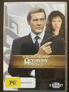 James Bond 007 In Octopussy DVD Movie. 2 Disc Ultimate Edition. Free Postage.