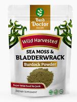 Sea Moss and Bladderwrack + Burdock Super wild food Powder Dr Sebi