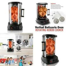 Vertical Shawarma Machine Kebab Grill Rotisserie Tower Oven Grill Cooker Skewers