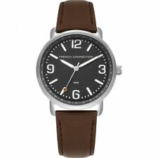 French Connection Mens Gents Brown Wrist Watch FC1312ET