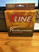 P-LINE EVOLUTION 4 LB COPOLYMER 300 YDS  NEW IN PACK