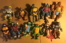 TMNT Teenage Mutant Ninja Turtles Action Figures Bundle / Lot 80s & 90s Vintage