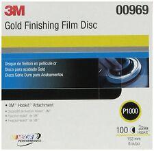 """3M 260L 00969 Hookit 6"""" P1000 Grit Finishing Film Disc"""
