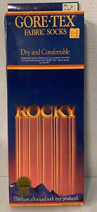 Rocky Gore-Tex Fabric Waterproof Black Socks NOS Hiking Size Choice