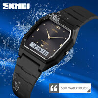 SKMEI Fashion Teenager Digital Watch Men Women Sport Watch Dual Display 1604 46