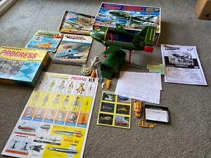 Gerry Anderson Thunderbirds Fireball XL5 Stingray Bundle Kit Puzzles Magazine