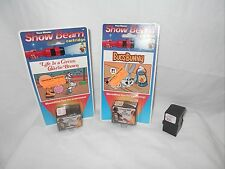 View Master Show Beam Cartidge 3 Charlie Brown Life is a Circus NIP Bugs Bunny