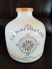 Nautical  beige ceramic large vase