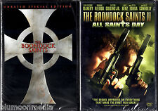 The Boondock Saints 1 & 2 DVD Lot Unrated Special Edition & All Saints Day NEW