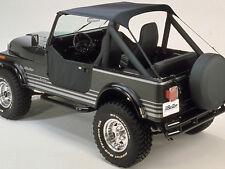 Bestop Traditional Bikini 52508 01 76 91 Jeep CJ7 CJ8 Wrangler YJ Black  Crush (Fits: 1989 Jeep Wrangler)