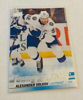 B1,943 -  2019-20 Upper Deck #488 Alexander Volkov Young Guns Rookie