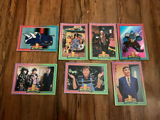 1994 - Original Mighty Morphin Power Rangers  - Lot of 7 Trading cards Vintage