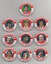 LIVERPOOL FC LEGENDS  FRIDGE MAGNETS X10  SET 1