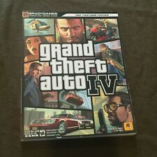 Brady Games Official Strategy Guide Book Signature Series Grand Theft Auto IV