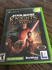Star Wars Knights Of The Old Republic Original Xbox Not For Resale XG2