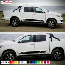 Decal Sticker Vinyl Side Stripes Body Kit for Toyota Hilux 2008-2017 Door Mirror