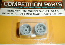 Ford GT Wheels Rear for Tapered axle with Long Nut COX 1/24 scale #9814 NOS