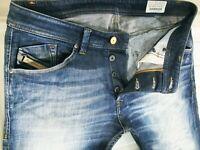 *HOT AUTHENTIC Men's DIESEL @ DARRON 882V Slim TAPERED DARK STRETCH Jeans 31 x27