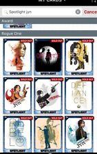 Star Wars Card Trader Jyn Erso 10 Card Spotlight Set With Award