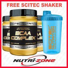 SCITEC NUTRITION BCAA Complex Powder 8:1:1 Amino Acids Glutamine Vit B6 + SHAKER