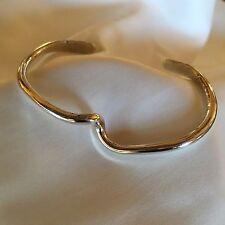 Sterling Silver Bangle Bracelet Small